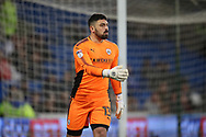 Nick Townsend, the goalkeeper of Barnsley looks on. EFL Skybet championship match, Cardiff city v Barnsley at the Cardiff city stadium in Cardiff, South Wales on Tuesday 6th March 2018.<br /> pic by Andrew Orchard, Andrew Orchard sports photography.