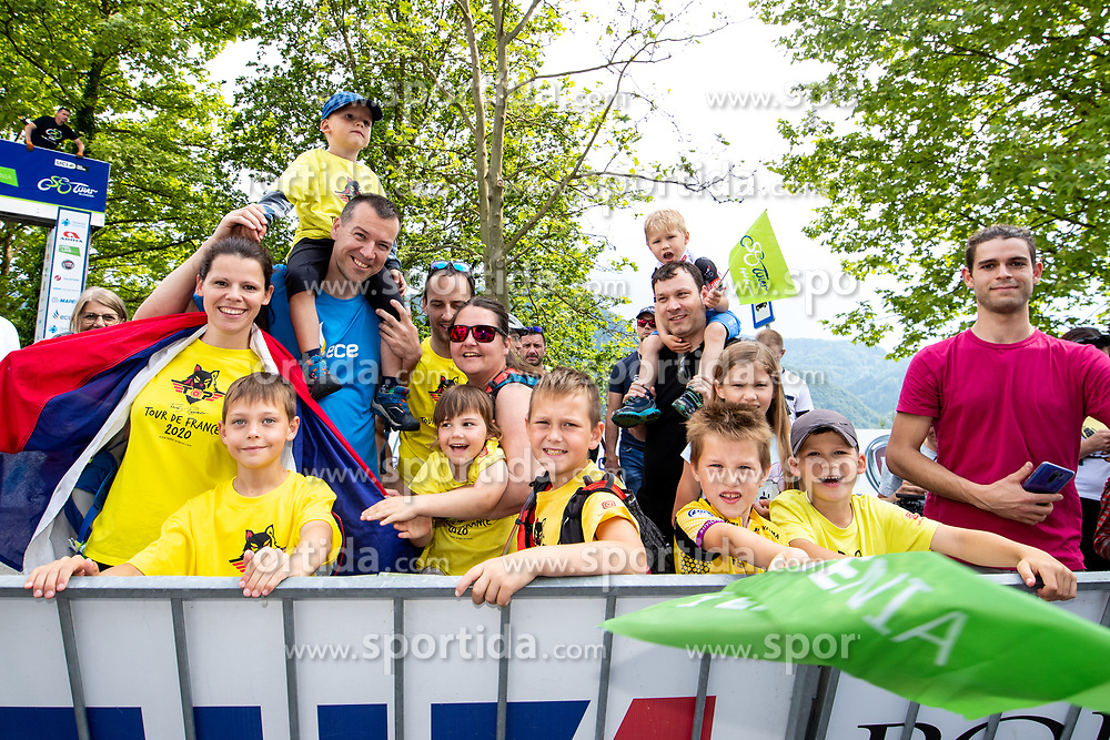 The fans during 2nd Stage of 27th Tour of Slovenia 2021 cycling race between Zalec and Celje (147 km), on June 10, 2021 in Slovenia. Photo by Matic Klansek Velej / Sportida