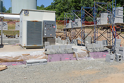 MDC Reservoir No. 6 WTF Blower Building Contract # 2015B-25. Progress Photography Submission 3. 21 July 2016