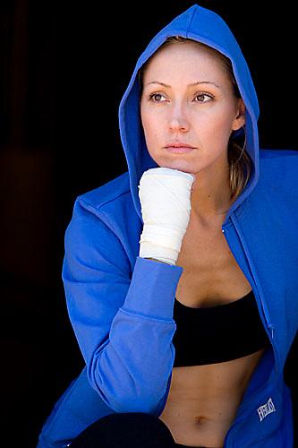 Portrait of Carrie Williams Nunez. Sacramento, CA