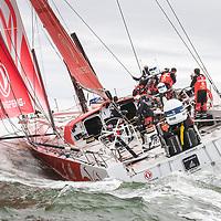Finish Volvo Ocean Race 2018