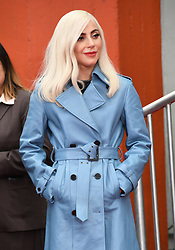 January 7, 2019 - Hollywood, CA, U.S. - 07 January 2019 - Hollywood, California - Lady Gaga  . Sam Elliott Hand And Footprint Ceremony held at TCL Chinese Theatre. Photo Credit: Birdie Thompson/AdMedia (Credit Image: © Birdie Thompson/AdMedia via ZUMA Wire)