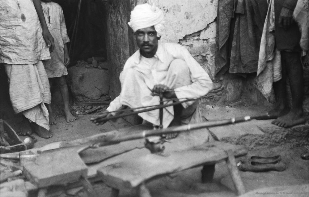 A Gunmaker, Udaipur, India, 1929