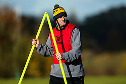 Wasps Attack and Backs Coach Lee Blackett during training ahead of the European Challenge Cup fixture against SU Agen - Mandatory by-line: Robbie Stephenson/JMP - 18/11/2019 - RUGBY - Broadstreet Rugby Football Club - Coventry , Warwickshire - Wasps Training Session