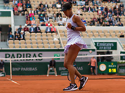 May 30, 2019 - Paris, FRANCE - Naomi Osaka of Japan in action during her second-round match at the 2019 Roland Garros Grand Slam tennis tournament (Credit Image: © AFP7 via ZUMA Wire)
