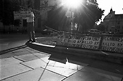 Demonstrator Trafalgar Square, London city
