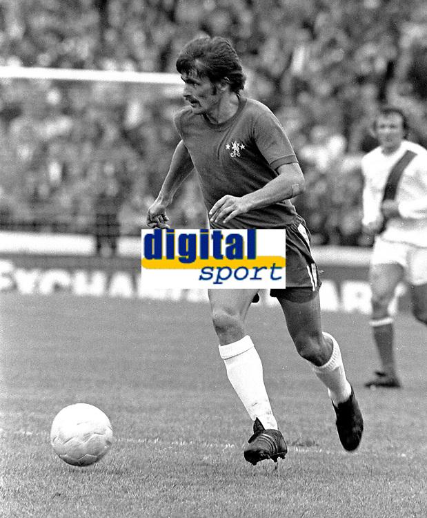 Charlie Cooke - Chelsea. Chelsea v Manchester City 26/8/72. Credit: Colorsport