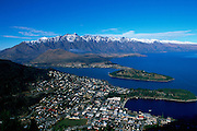 Queenstown, From Skyline Gondola, South Island, New Zealand<br />