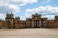 Blenheim Palace during Lockdown 2020 ,Blenheim Palace is a monumental country house in Woodstock, Oxfordshire, England, It is the principal residence of the Duke of Marlborough, and the only non-royal, non-episcopal country house in England to hold the title of palace photo by Brian Jordan