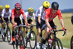 July 4, 2017 - Mondorf Les Bains / Vittel, Luxembourg / France - VITTEL, FRANCE - JULY 4 : GREIPEL Andre (GER) Rider of Team Lotto - Soudal in action during stage 4 of the 104th edition of the 2017 Tour de France cycling race, a stage of 207.5 kms between Mondorf-Les-Bains and Vittel on July 04, 2017 in Vittel, France, 4/07/2017 (Credit Image: © Panoramic via ZUMA Press)