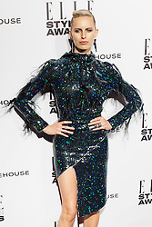 © Licensed to London News Pictures. 18/02/2014. London, UK. Karolina Kurkova attends the ELLE Style Awards 2014 at One Embankment in central London. Photo credit : Andrea Baldo/LNP