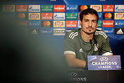Bayern Munich's German defender Mats Hummels attends the Bayern Munich press conference and training before the UEFA Champions League football match between Paris Saint-Germain and Bayern Munich on September 26, 2017 at Parc des Princes stadium in Paris, France - Photo Benjamin Cremel / ProSportsImages / DPPI