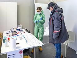 10.02.2021, Cortina, ITA, FIS Weltmeisterschaften Ski Alpin, Vorberichte, Die alpine Ski-Weltmeisterschaft findet von 8. bis 21. Februar 2021 in Cortina d'Ampezzo statt, im Bild zwei tage Antigen-Schnelltest // two days antigen rapid test during preparations, the Alpine World Ski Championships will be held in Cortina d'Ampezzo from 8 to 21 February 2021, FIS Alpine Ski World Championships 2021 in Cortina, Italy on 2021/02/10. EXPA Pictures © 2021, PhotoCredit: EXPA/ Johann Groder