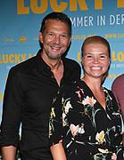 Kai Wiesinger, Annette Frier und Nico Sommer bei der Premiere von Lucky Loser in der Kulturbrauerei in Berlin / 100817