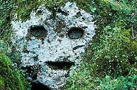 Italie - Toscane - Province de Grosseto - Village de Sorano - Nécropole Etrusque. // Italy, Tuscany, Grosseto province, Sorano village, Etruscan Necropolis
