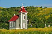 St. Nicholas Anglican Church. Qu' Appelle Valley<br /> Craven <br /> Saskatchewan<br /> Canada