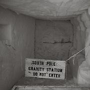 South Pole gravity station