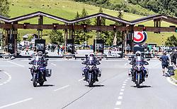 10.07.2019, Fuscher Törl, AUT, Ö-Tour, Österreich Radrundfahrt, 4. Etappe, von Radstadt nach Fuscher Törl (103,5 km), im Bild Polizei Motorräder // during 4th stage from Radstadt to Fuscher Törl (103,5 km) of the 2019 Tour of Austria. Fuscher Törl, Austria on 2019/07/10. EXPA Pictures © 2019, PhotoCredit: EXPA/ JFK