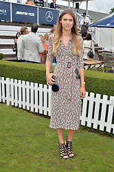 SABRINA PERCY at the Laureus King Power Cup polo match held at Ham Polo Club, Richmond on 16th June 2016.
