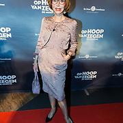 NLD/Zaandam/20190128- première musical Op Hoop van Zegen, Marijke Helwegen
