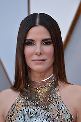 Sandra Bullock walking the red carpet as arriving for the 90th annual Academy Awards (Oscars) held at the Dolby Theatre in Los Angeles, CA, USA, on March 4, 2018. Photo by Lionel Hahn/ABACAPRESS.COM