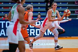 Kriztina Raksanyi of Hungary during a European Championship qualifier.