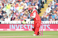 Lancashires Alex Davies during the Vitality T20 Finals Day semi final 2018 match between Worcestershire Rapids and Lancashire Lightning at Edgbaston, Birmingham, United Kingdom on 15 September 2018.