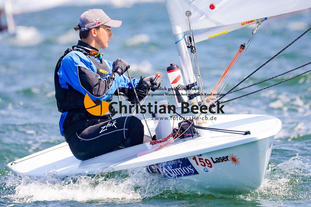, Travemünder Woche 19. - 28.07.2019, Laser Radial - GER 211420 - Björn RICHARDSEN - Yacht-Club Seeshaupt e. V
