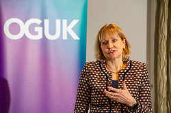 Pictured: Deirdre Michie<br /><br />Deirdre Michie, chief executive of offshore oil and gas<br />industry bodym, OGUK, was in Edinburgh today and gave a speech responding to UK and Scottish Government net zero emission commitments.<br /><br />Ger Harley | EEm 30 Janury 2020