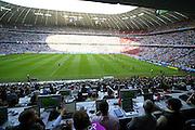 GERMANY COSTA RICA Football World Cup Munich - 09.06.2006: <br /> Fuflball - Football - Fussball - Erˆffnungsspiel Deutschland gegen Costa Rica - Copyright mandatory: © ATP Arthur THILL<br /> <br /> GERMANY vs COSTA RICA, -FIFA  World Cup Football match in Munich on 9.06.2006 - Germany won 4 : 2 - Stadium view during the opening match -