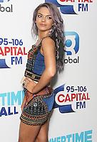 Louisa Johnson, Capital FM Summertime Ball 2016, Wembley Studium, London UK, 11 June 2016, Photo by Brett D. Cove