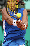 Roland Garros. Paris, France. June 5th 2006..Nadal against Hewitt during the 1/8 finals.
