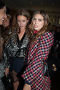 CAMILLA AL FAYAD; DASHA ZHUKOVA; , Opening of Morris Lewis: Cyprien Gaillard. From Wings to Fins, Sprüth Magers London Grafton St. London. Afterwards dinner at Simpson's-in-the-Strand hosted by Monika Spruth and Philomene Magers.
