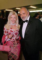 MR & MRS GILBERT LLOYD, he is the art dealer, at <br /> a dinner in London on 3rd May 2000.ODH 141<br /> © Desmond O'Neill Features:- 020 8971 9600<br />    10 Victoria Mews, London.  SW18 3PY <br /> www.donfeatures.com   photos@donfeatures.com<br /> MINIMUM REPRODUCTION FEE AS AGREED.<br /> PHOTOGRAPH BY DESMOND O'NEILL