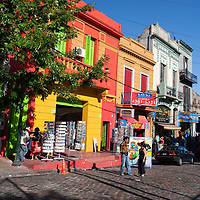 """La Boca, the colourful """"neighbourhood"""" of Buenos Aires, is a popular destination for tourists."""