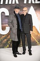 Ian McKellen and Patrick Stewart at the 'Star Trek: Picard'  premiere, London, UK 15th  Jan 2020