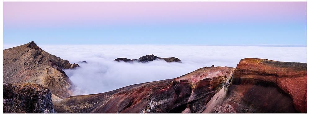 Red Crater, Tongariro Crossing, Tongariro National Park.
