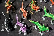 Painted dragons for sale. Dragon Festival Lake Phalen Park St Paul Minnesota USA