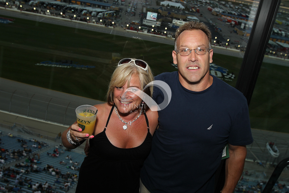 Photos of team Fuzzy's Vodka at PEAK ANTIFREEZE AND MOTOR OIL INDY 300 at Chicagoland Speedway in Joliet, Illinois.<br /> <br /> Corporate event photography by Michael Hickey, Infiniti Images