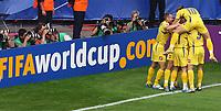 0:1 Jubel Ukraine<br /> Fussball WM 2006 Saudi-Arabien - Ukraine<br /> Saudi-Arabia - Ukraina <br /> Norway only