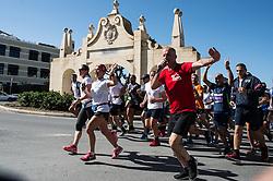 SANTA VENERA, Nov. 5, 2018  People participate in the Malta President's Solidarity Fun Run 2018 in Santa Venera, Malta, Nov. 4, 2018. (Credit Image: © Roberto Runzaa/Xinhua via ZUMA Wire)