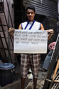 Sumit Gaikwad - 19 yrs.Bombay.Hindu.Junior college studying commerce..Marathi - 'In Mumbai a man without education can easily earn a living, but getting water is difficult'