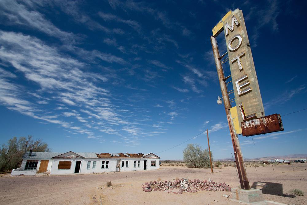 Abandoned Places at Salton Sea, California