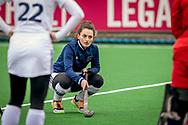 LAREN -  Hockey Hoofdklasse Dames: Laren v Pinoké, seizoen 2020-2021. Foto: Kiki van Wijk (Pinoké)