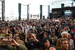 May 13, 2019 - Rome - MIMMO LUCANO SCORED BY ANTICFASCISTS TO GO TO THE AULA MAGNA OF LETTERS FROM THE LA Sapienza University in Rome (Fotogramma, Rome - 2019-05-13) p.s. la foto e' utilizzabile nel rispetto del contesto in cui e' stata scattata, e senza intento diffamatorio del decoro delle persone rappresentate (Credit Image: © IPA via ZUMA Press)
