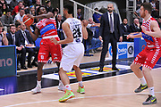 DESCRIZIONE : Trento Lega A 2015-16 Dolomiti Energia Trentino - Consultinvest Pesaro<br /> GIOCATORE : Semay Christon<br /> CATEGORIA : Equilibrio<br /> SQUADRA : Dolomiti Energia Trentino - Consultinvest Pesaro<br /> EVENTO : Campionato Lega A 2015-2016 <br /> GARA : Dolomiti Energia Trentino - Consultinvest Pesaro<br /> DATA : 08/11/2015 <br /> SPORT : Pallacanestro <br /> AUTORE : Agenzia Ciamillo-Castoria/M.Gregolin<br /> Galleria : Lega Basket A 2015-2016 <br /> Fotonotizia : Trento Lega A 2015-16 Dolomiti Energia Trentino - Consultinvest Pesaro