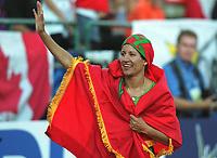 Friidrett. VM 2001 Edmonton. BIDOUANE, Nezha       Marokko<br />                    Leichtathletik   WM  2001   400m Hürden