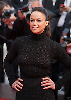 Michelle Rodriguez at the Closing ceremony and premiere of La Glace Et Le Ciel at the 68th Cannes Film Festival, Sunday 24th May 2015, Cannes, France.