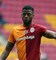 Turkey Spor Toto Superlig soccer match between Galatasaray and Caykur Rizespor at Turk Telekom Arena Stadium in Istanbul on April 09 , 2016.<br /> Final Score: Galatasaray 1 - Caykur Rizespor 1 <br /> Pictured: Ryan Donk of Galatasaray.