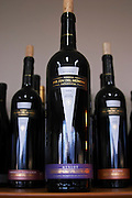 Bottle of Reserva merlot Bodega Del Fin Del Mundo - The End of the World - Neuquen, Patagonia, Argentina, South America